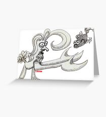Pisces Rising Greeting Card