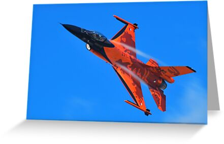 Flying Orange by Xandru