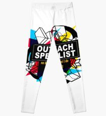OUTREACH SPECIALIST - NO BODY KNOWS Leggings
