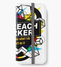 OUTREACH WORKER - NO BODY KNOWS iPhone Wallet/Case/Skin