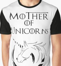 MK Mother of Unicorns Graphic T-Shirt