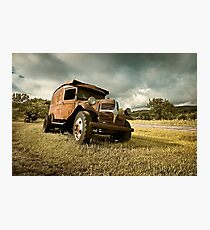 Abandoned Dodge Photographic Print