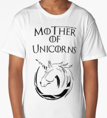 MK Mother of Unicorns Long T-Shirt