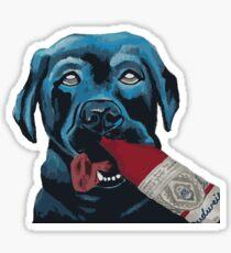 Beer Me Dog Sticker