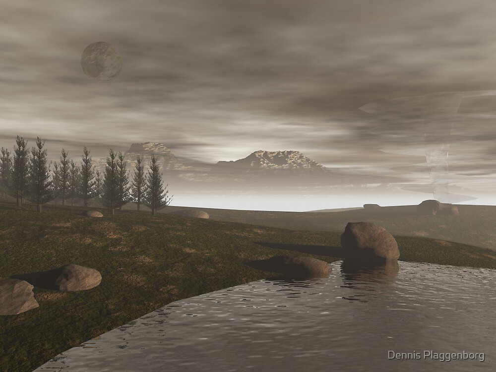 Lake Gothica by Dennis Plaggenborg