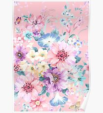 Cute flowers Poster