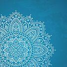 Blue Paisley by Sonja Kallio