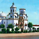 San Xavier del Bac  by Walter Colvin