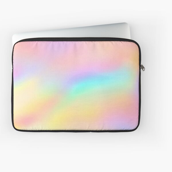 Iridescent Aesthetic Color Laptop Sleeve