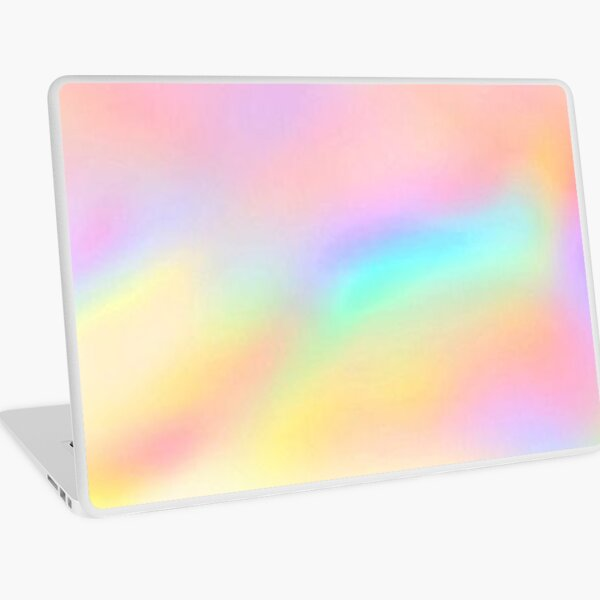 Iridescent Aesthetic Color Laptop Skin