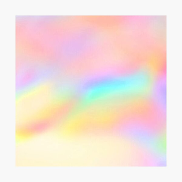 Iridescent Aesthetic Color Photographic Print