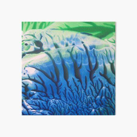 Undersea Coral Art Board Print