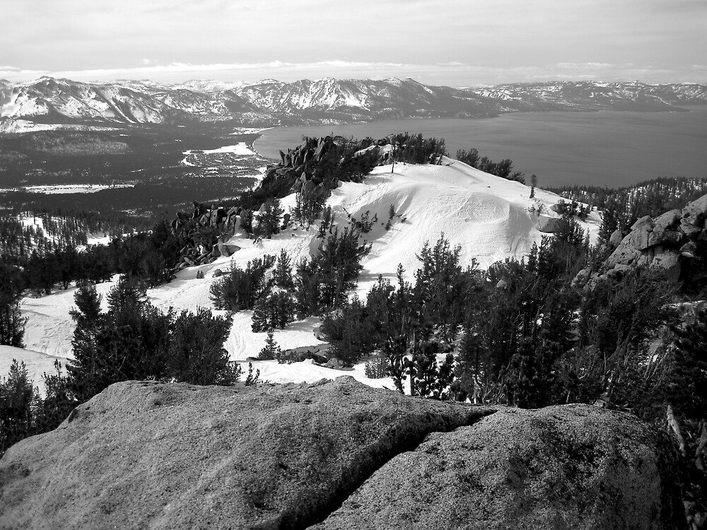 Winter, Lake Tahoe by PaulDuff