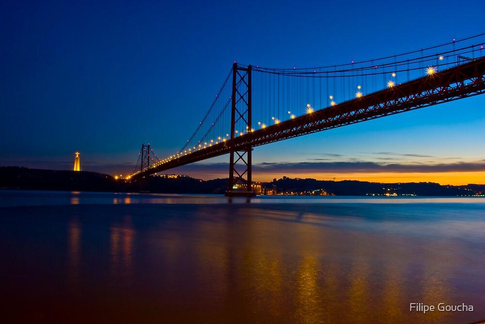 Ponte 25 de Abril by Filipe Goucha