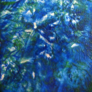 Blue Green Texture by DallasManicom