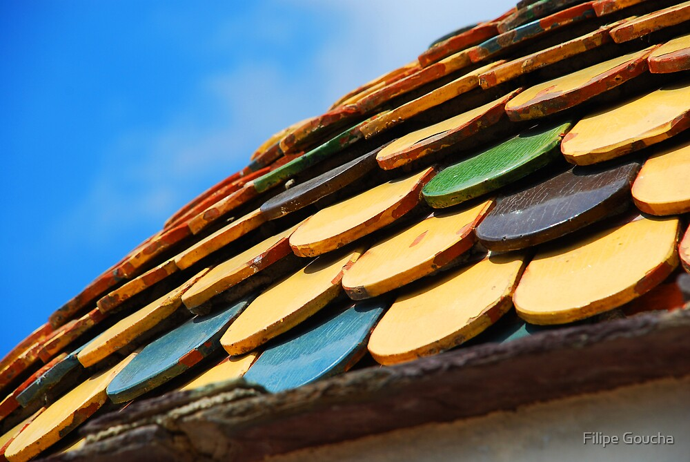 Colored Roof by Filipe Goucha
