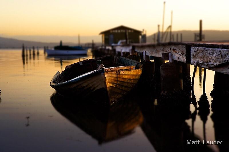 Sheathers Wharf by Matt  Lauder