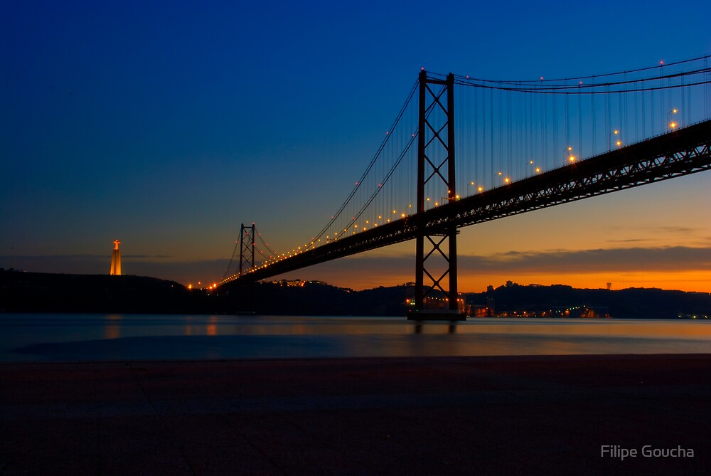 Ponte 25 de Abril I by Filipe Goucha