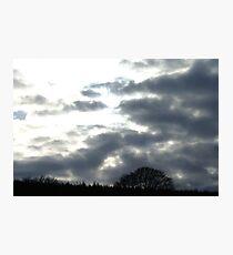 Overcast Photographic Print
