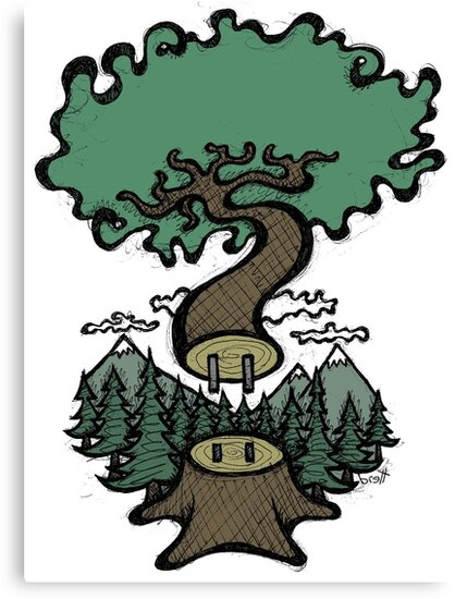 Plug In Tree by Brett Gilbert