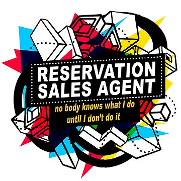 RESERVATION SALES AGENT - NO BODY KNOWS by sohpielo