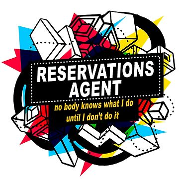 RESERVATIONS AGENT - NO BODY KNOWS by sohpielo