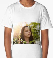 Girl and flower Long T-Shirt