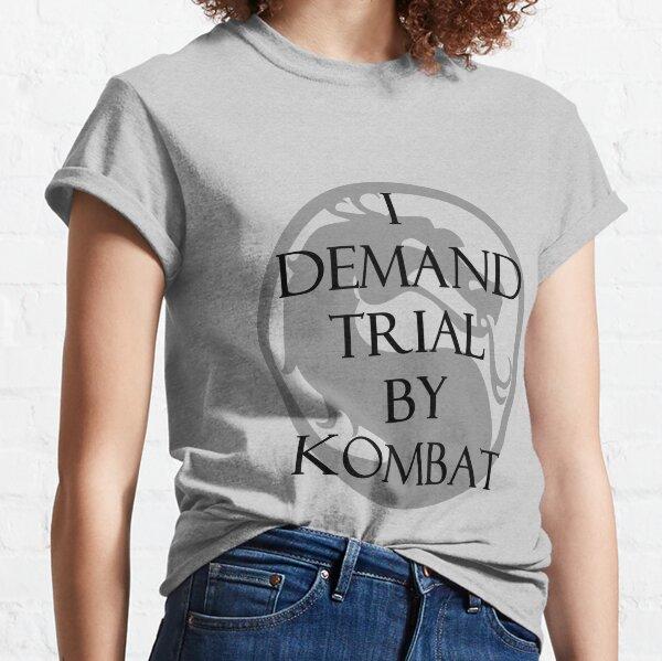 Procès de Kombat T-shirt classique