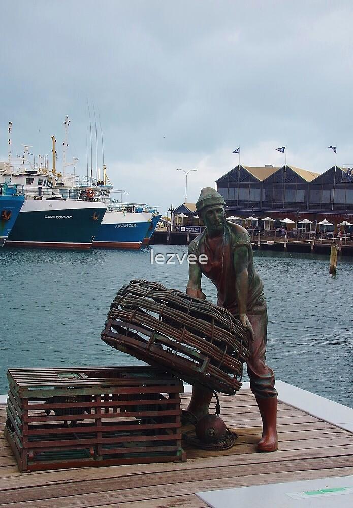 Fremantle Fisherman by lezvee