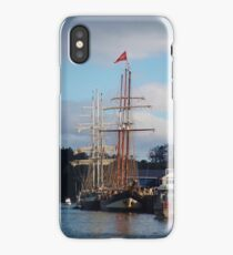 Tall Ships In Opua iPhone Case/Skin
