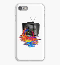 television full color iPhone Case/Skin
