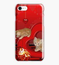 Cute, playing kitten  iPhone Case/Skin