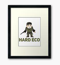 Hard Eco! A CSGO and Monopoly Mashup Framed Print