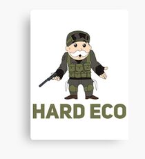 Hard Eco! A CSGO and Monopoly Mashup Canvas Print