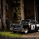 Steve Barks' 1957 Chevrolet Coupe 'Black Widow' by HoskingInd