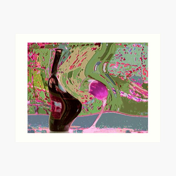 From pink to life in 9 Art Print
