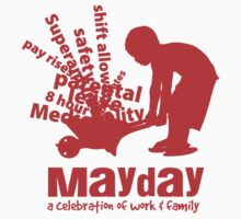 MayDay 2008: a celebration of work and family - Red print