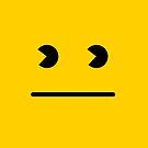 Retro Game Art - Classic Yellow by BitGem