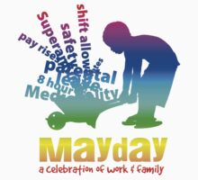 MayDay 2008: a celebration of work and family - Rainbow print