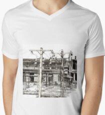 View From A Bridge Men's V-Neck T-Shirt