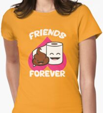Happy Friendship Day - Best Friend forever Womens Fitted T-Shirt