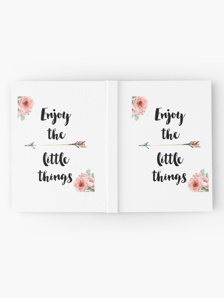 Alternate view of Enjoy the little things Hardcover Journal