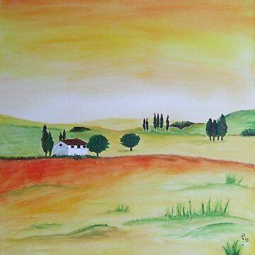 Tuscany by RosiLorz