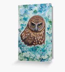 Morepork Owl Greeting Card
