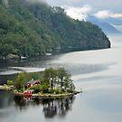 Lovrafjorden - Norway by Arie Koene