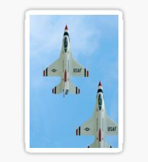 The United States Air Force Demonstration Team Thunderbirds. Sticker