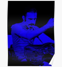 Frank Zappa - Celebrity (Dark Fashion) Poster