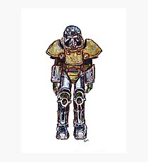 T-51 Power Armour Photographic Print
