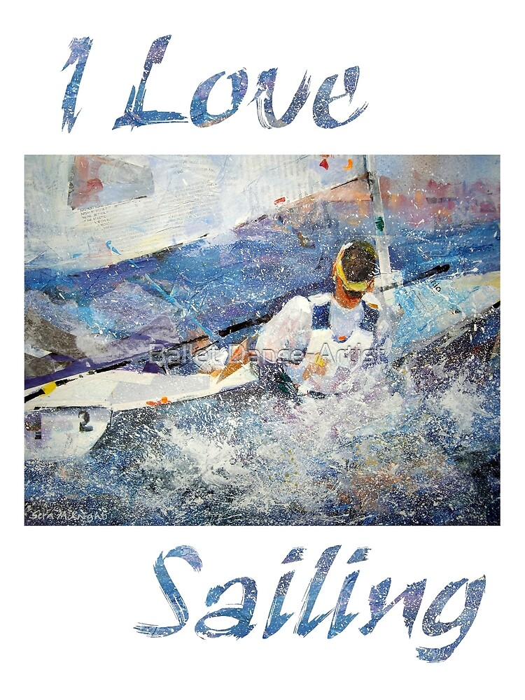 Sailing Gifts And Prints by Ballet Dance-Artist
