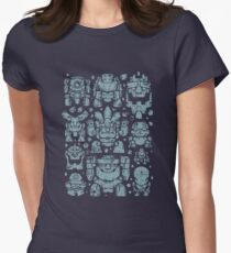 Golems and golems Womens Fitted T-Shirt